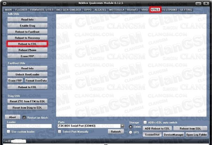Reseto Intentos Zte Mave 3 Z835 Nck Box - Clan GSM - Unión