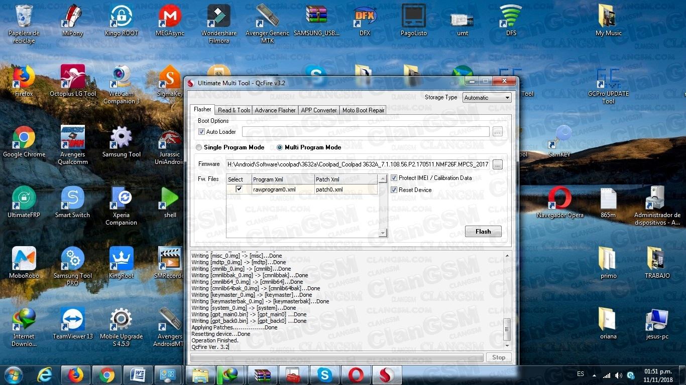Revivir Coolpad 3632a - Clan GSM - Unión de los Expertos en