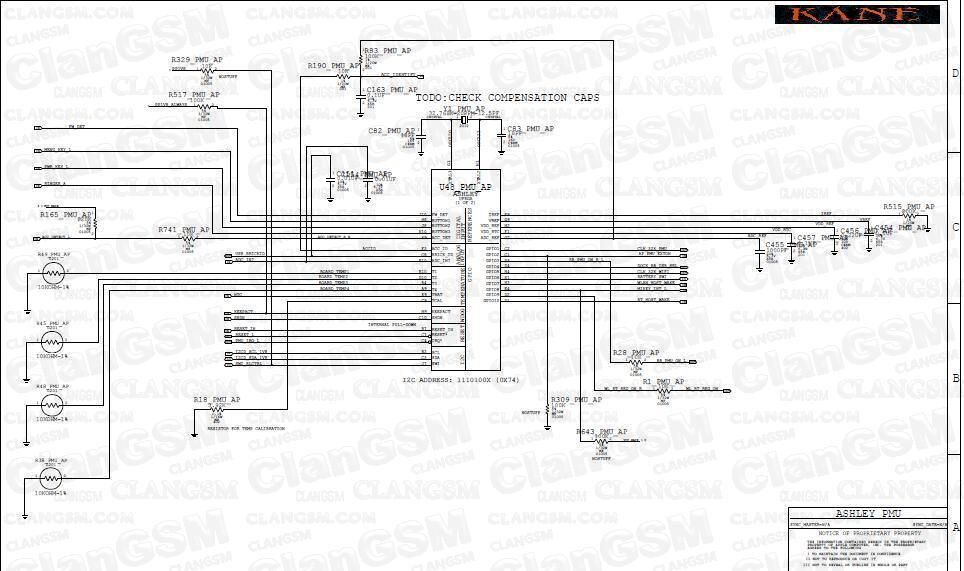 aporte  diagrama el u00e9ctrico del iphone 4 - clan gsm