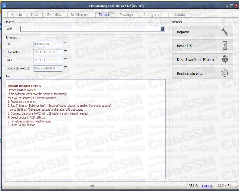 G531m Write Cert 100% (aporte) - Clan GSM - Unión de los Expertos en