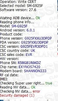 اصلاح ايمي V7 0 او g920f 350000000006 ((U1 -->U6)) V6 0 1 | Easy